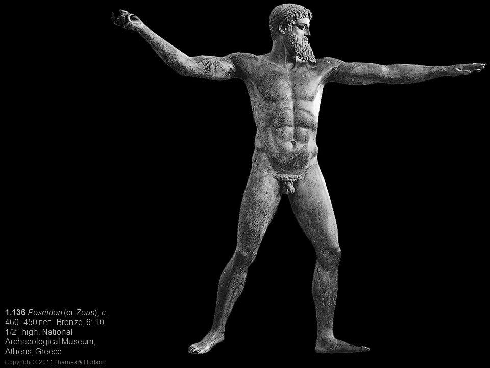 06/16/11 1.136 Poseidon (or Zeus), c. 460–450 BCE.