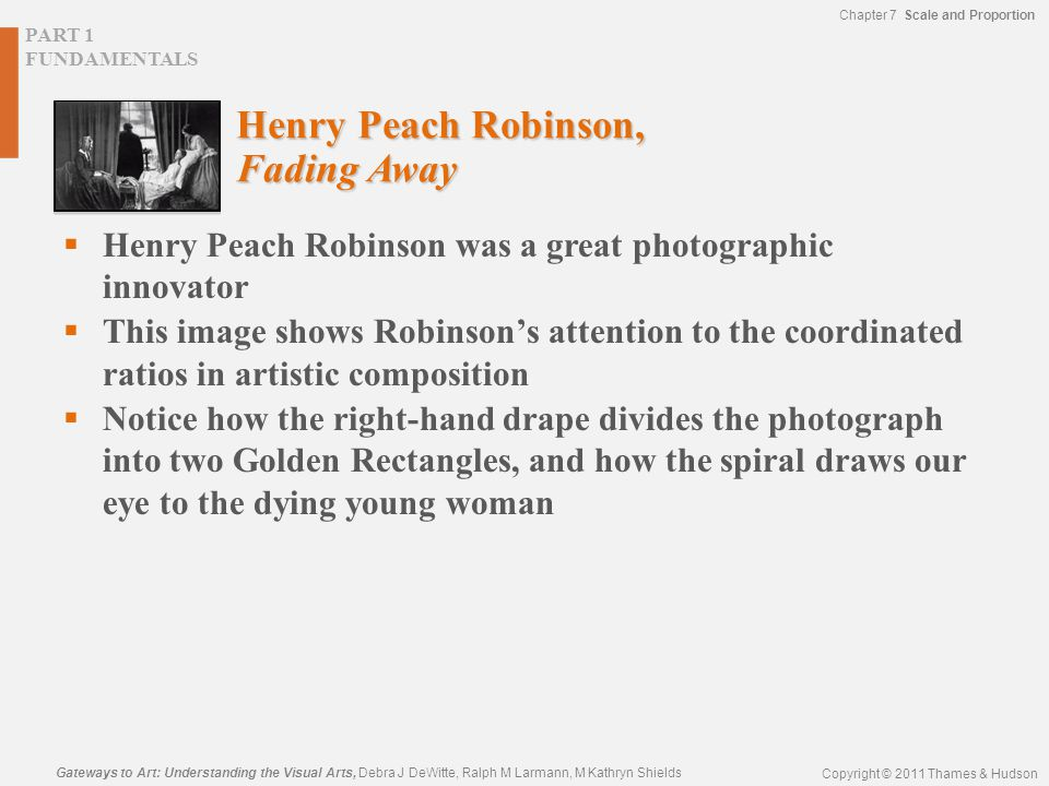 Henry Peach Robinson, Fading Away
