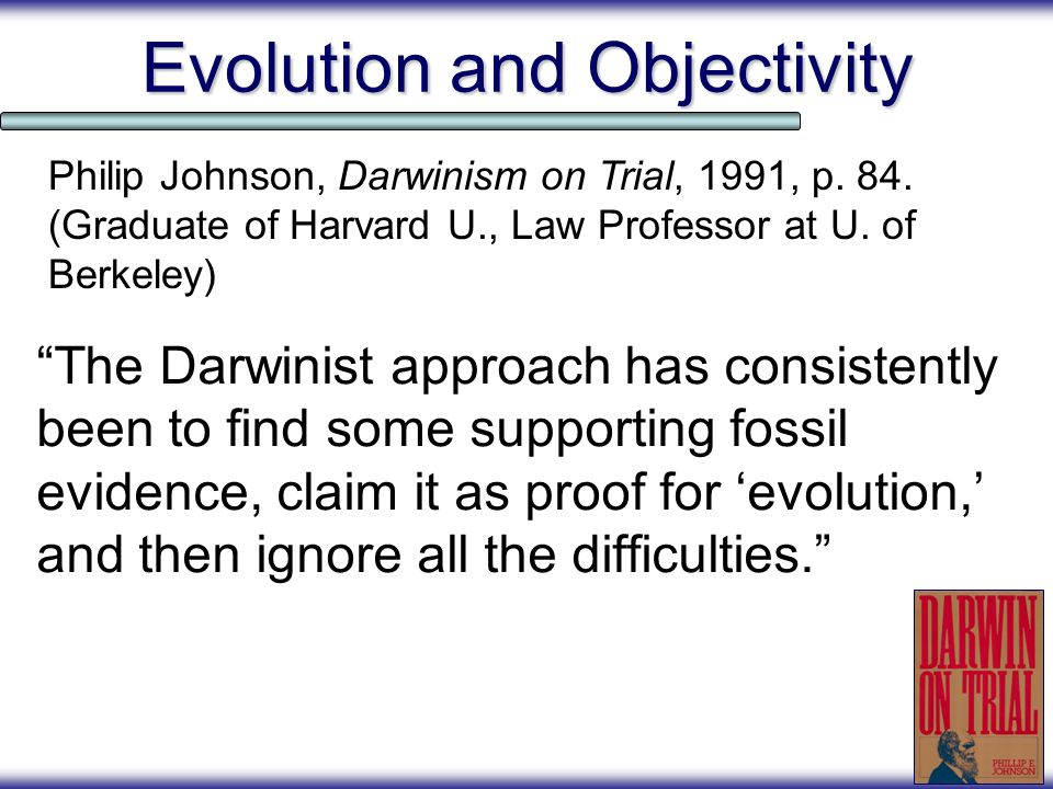 Evolution and Objectivity