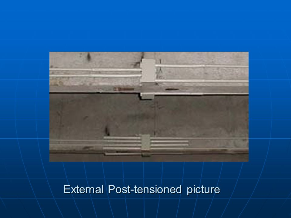 External Post-tensioned picture