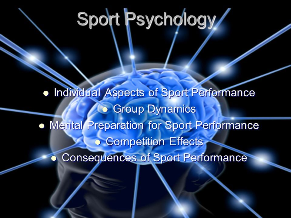 Sport Psychology Individual Aspects of Sport Performance