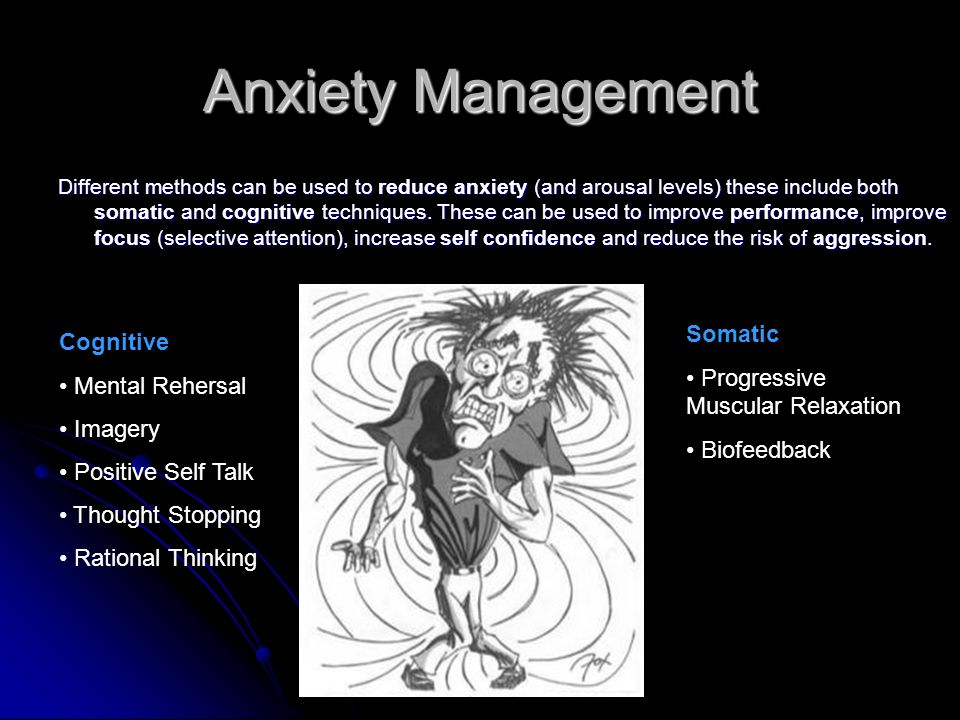 Anxiety Management Somatic Cognitive Progressive Muscular Relaxation