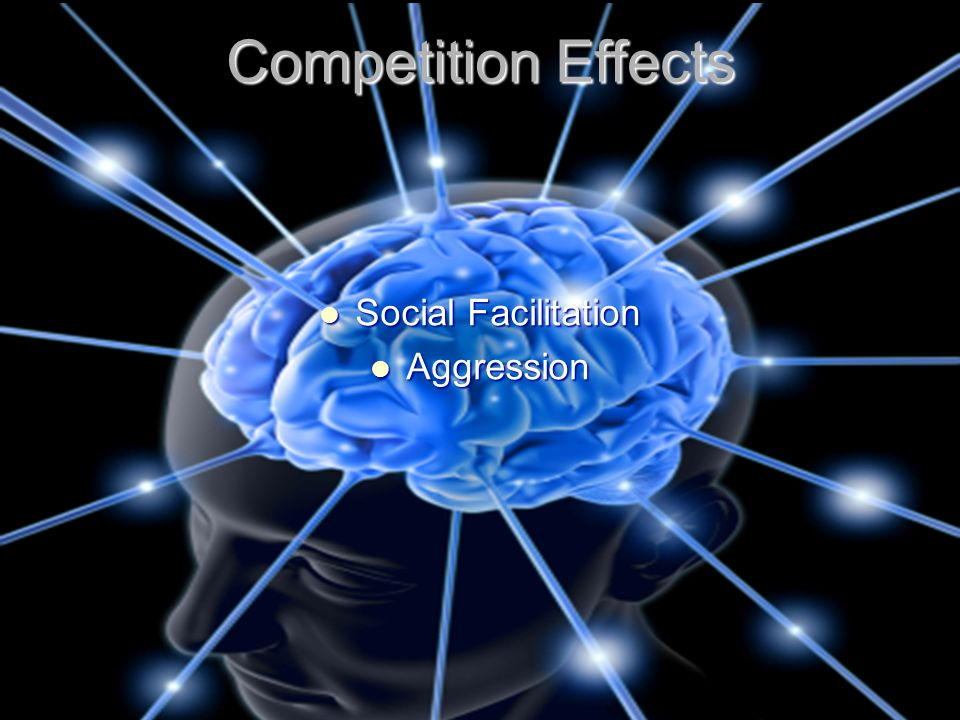 Competition Effects Social Facilitation Aggression