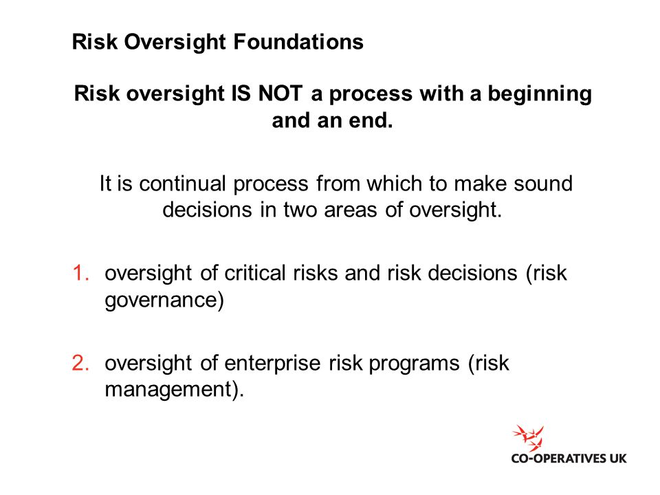 Risk Oversight Foundations