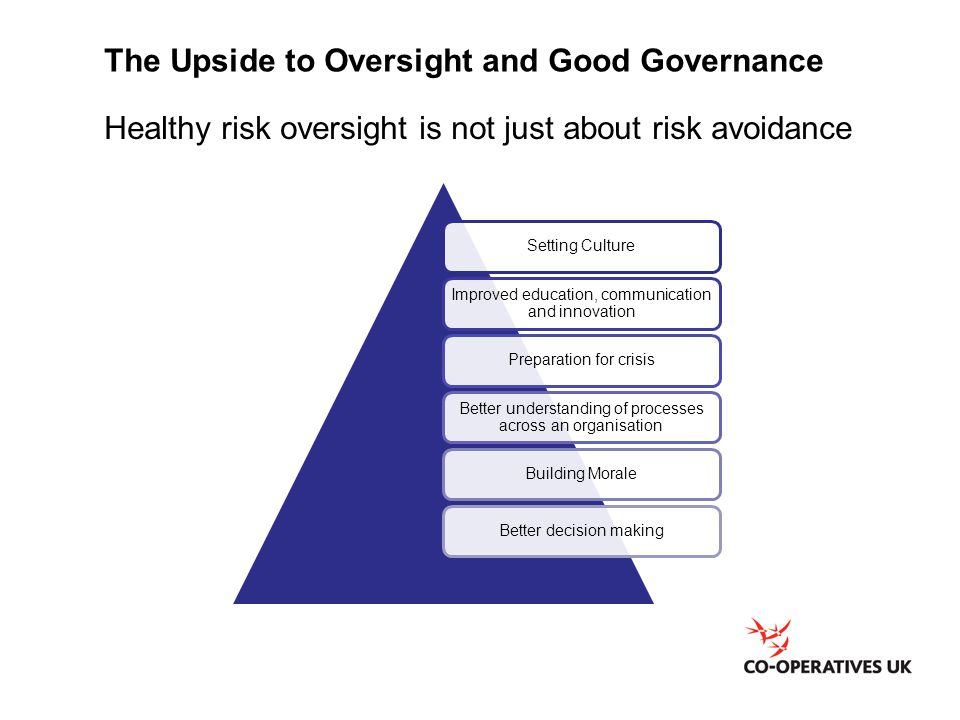 The Upside to Oversight and Good Governance