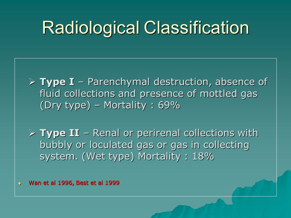 Radiological Classification