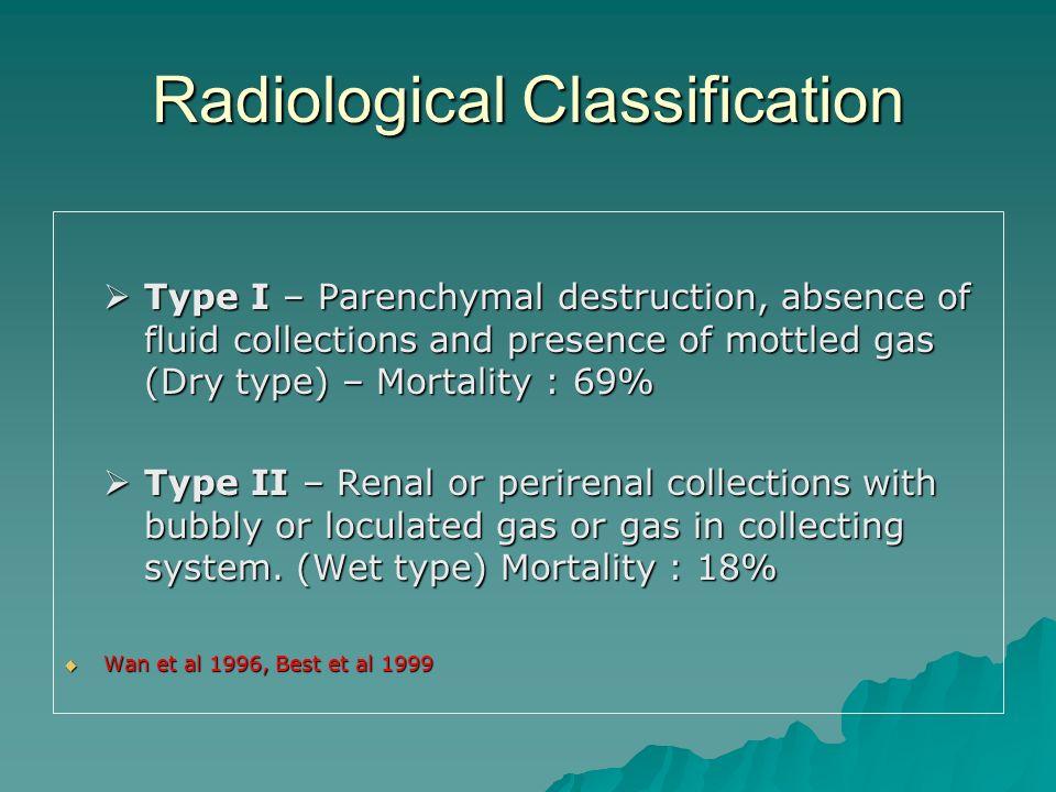Radiological Classification
