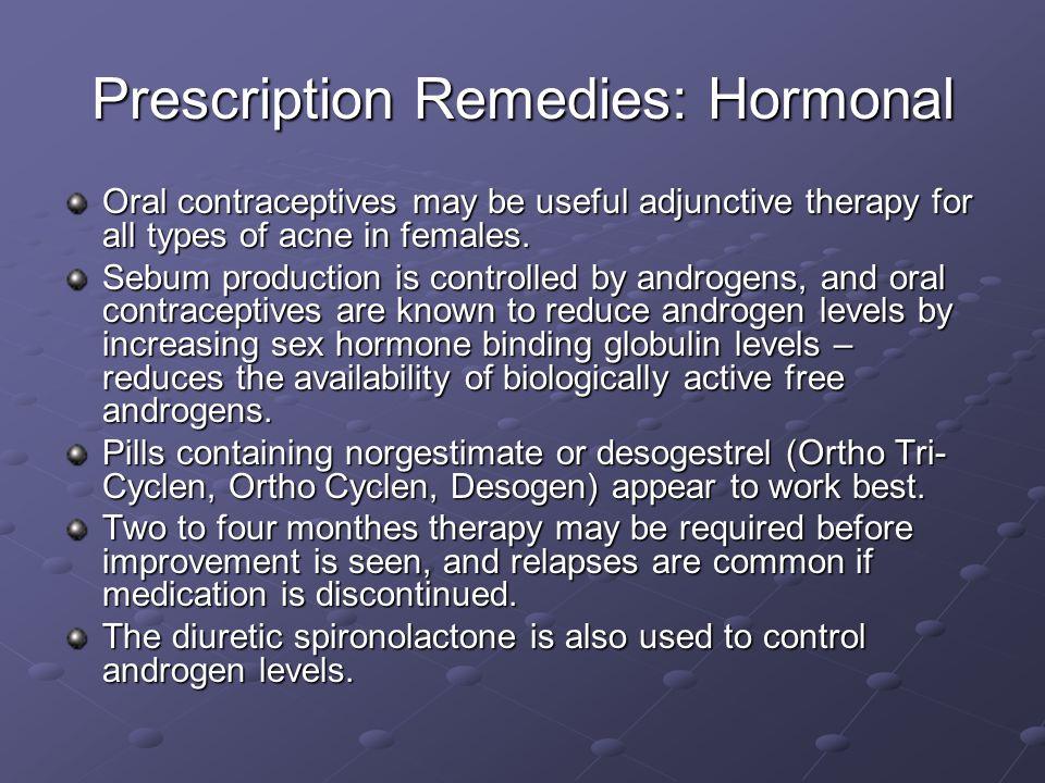 Prescription Remedies: Hormonal