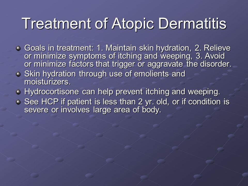 Treatment of Atopic Dermatitis