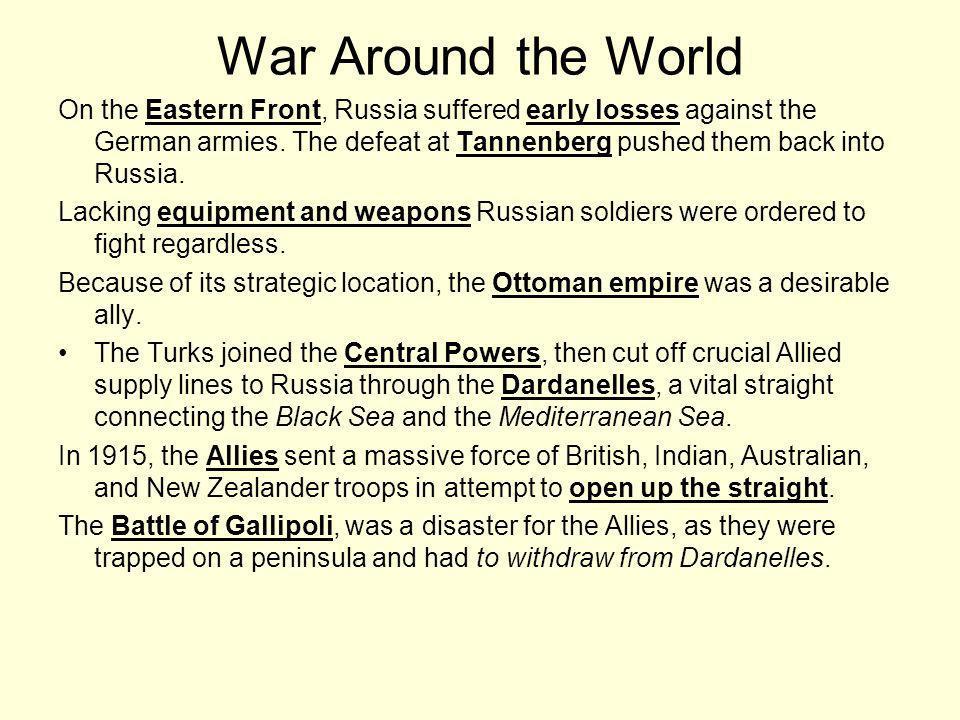 War Around the World