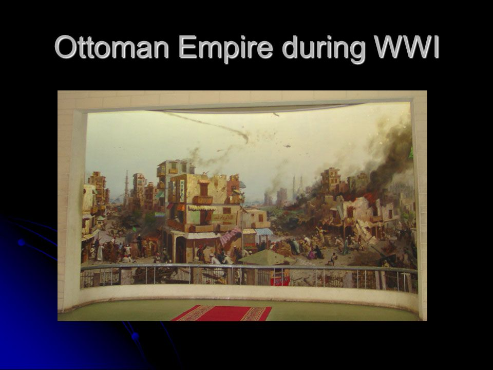 Ottoman Empire during WWI