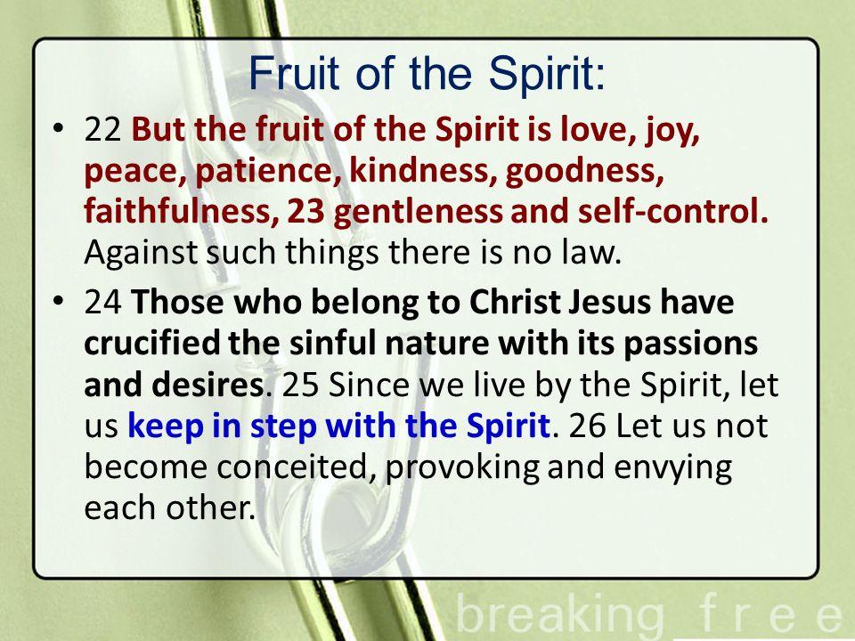 Fruit of the Spirit: