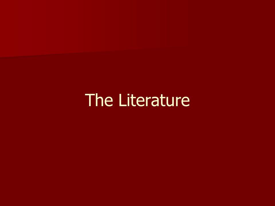 The Literature