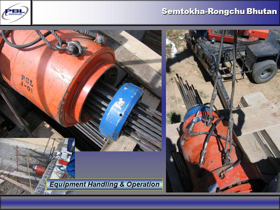 Equipment Handling & Operation