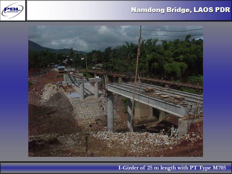 Namdong Bridge, LAOS PDR