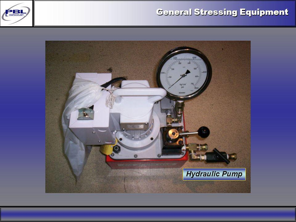 General Stressing Equipment