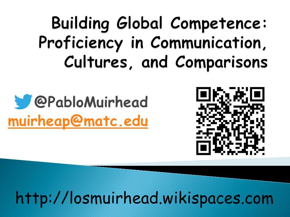@PabloMuirhead muirheap@matc.edu