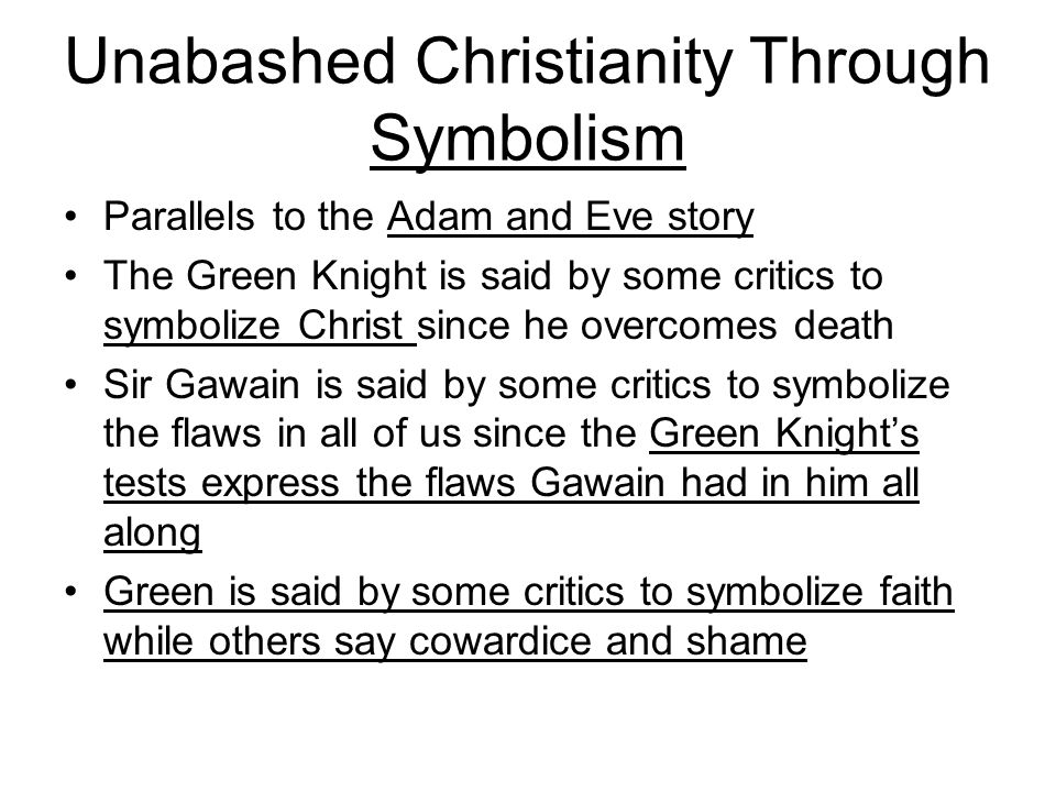 Unabashed Christianity Through Symbolism