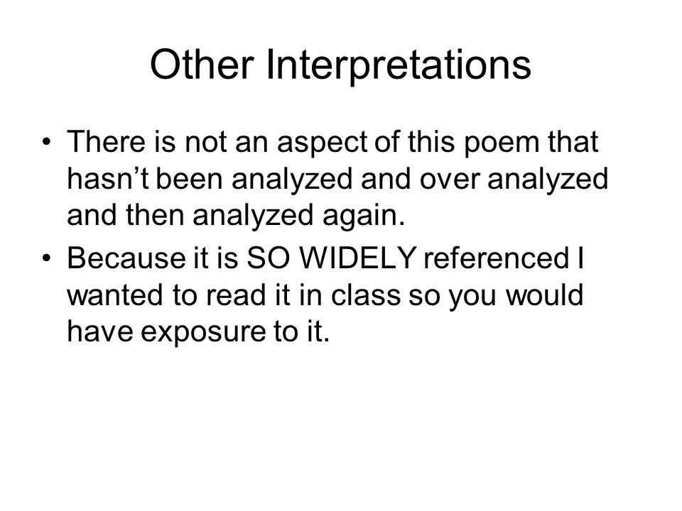 Other Interpretations
