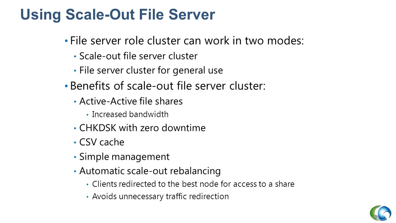 Using Scale-Out File Server