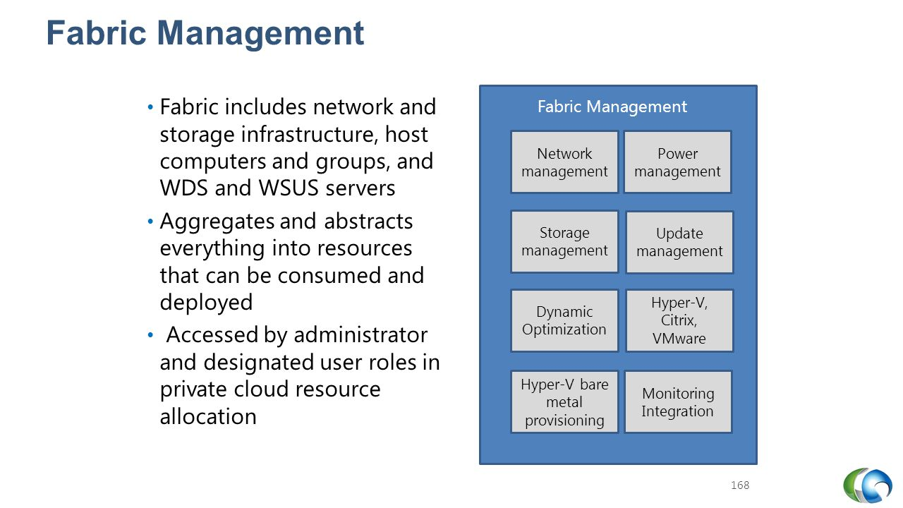 20409A Fabric Management. 7: Installing and Configuring System Center 2012 R2 Virtual Machine Manager.