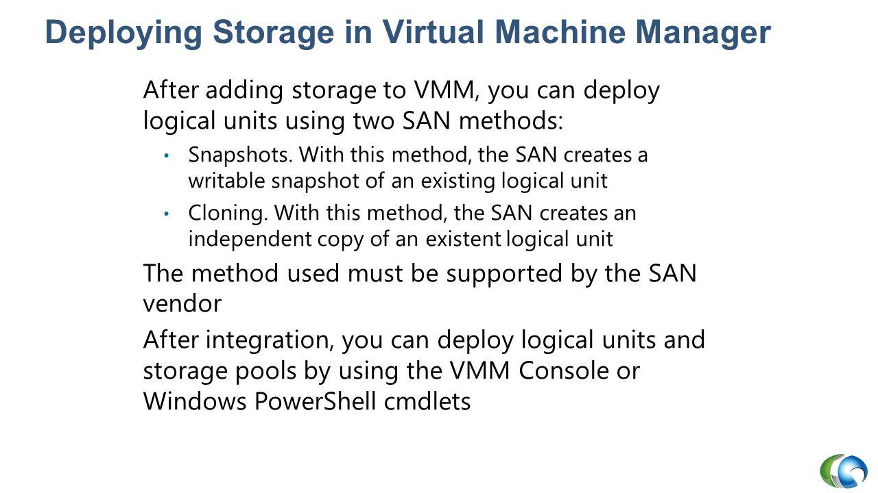 Deploying Storage in Virtual Machine Manager