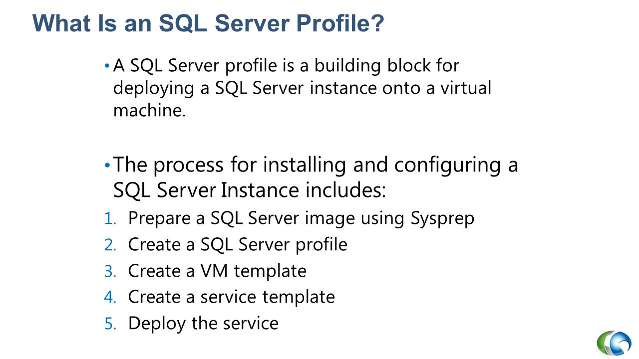 What Is an SQL Server Profile