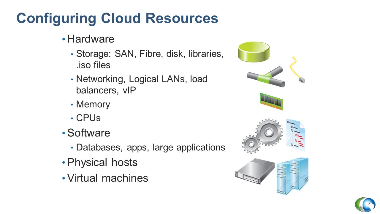 Configuring Cloud Resources