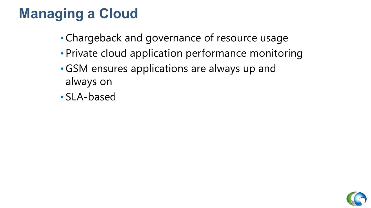 Managing a Cloud Chargeback and governance of resource usage