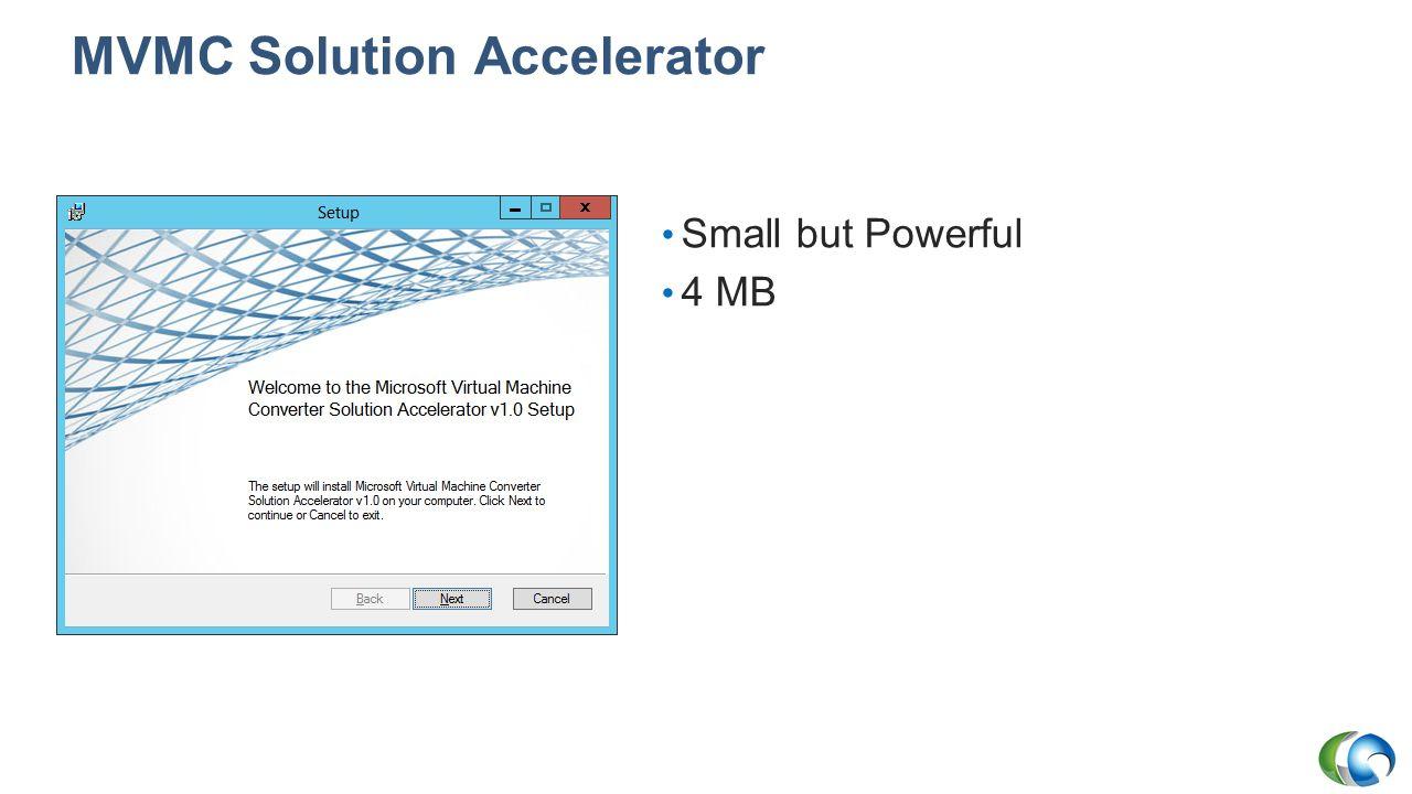 MVMC Solution Accelerator