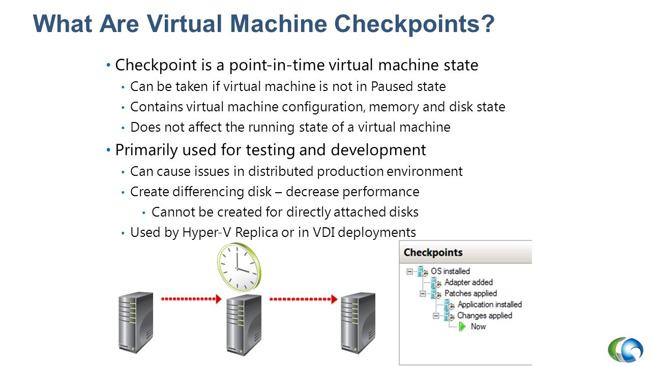 What Are Virtual Machine Checkpoints