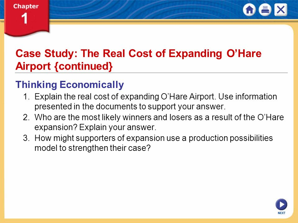 Case Study: The Real Cost of Expanding O'Hare Airport {continued}