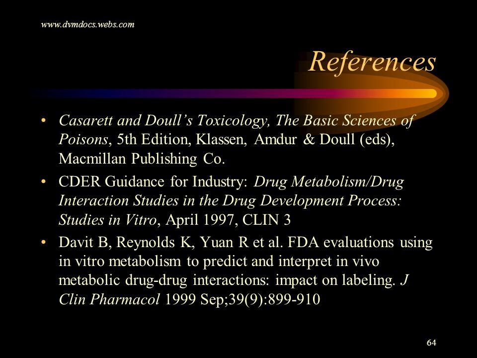 www.dvmdocs.webs.com References.