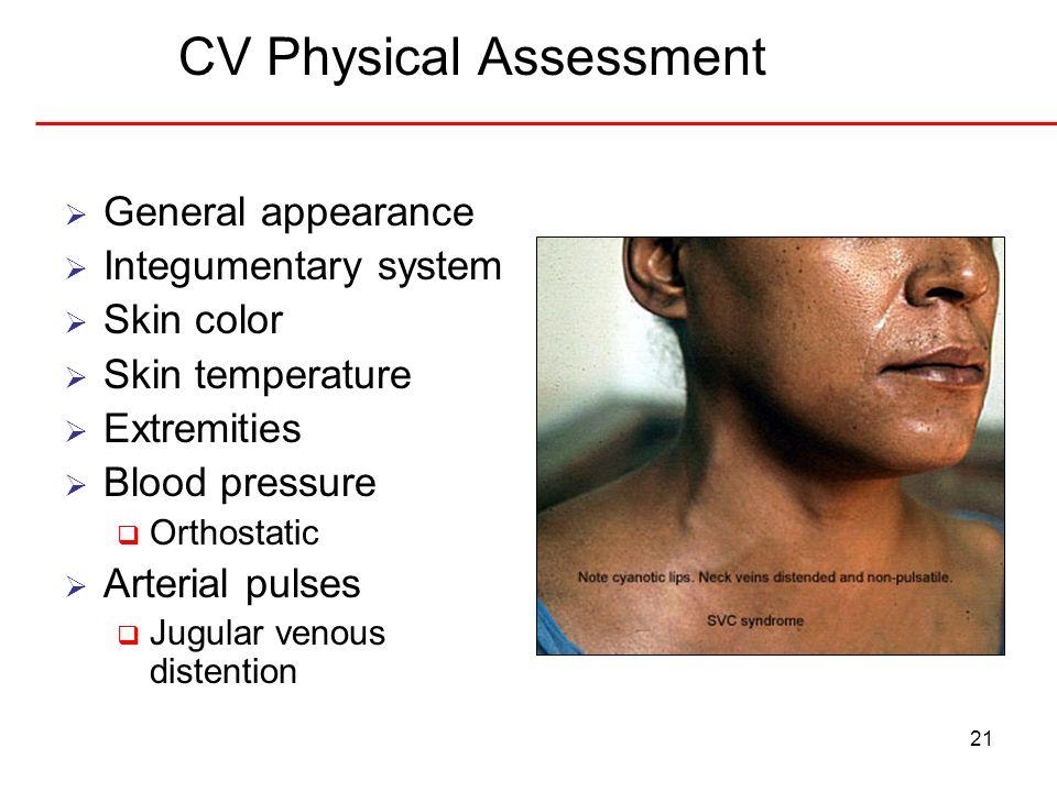 CV Physical Assessment