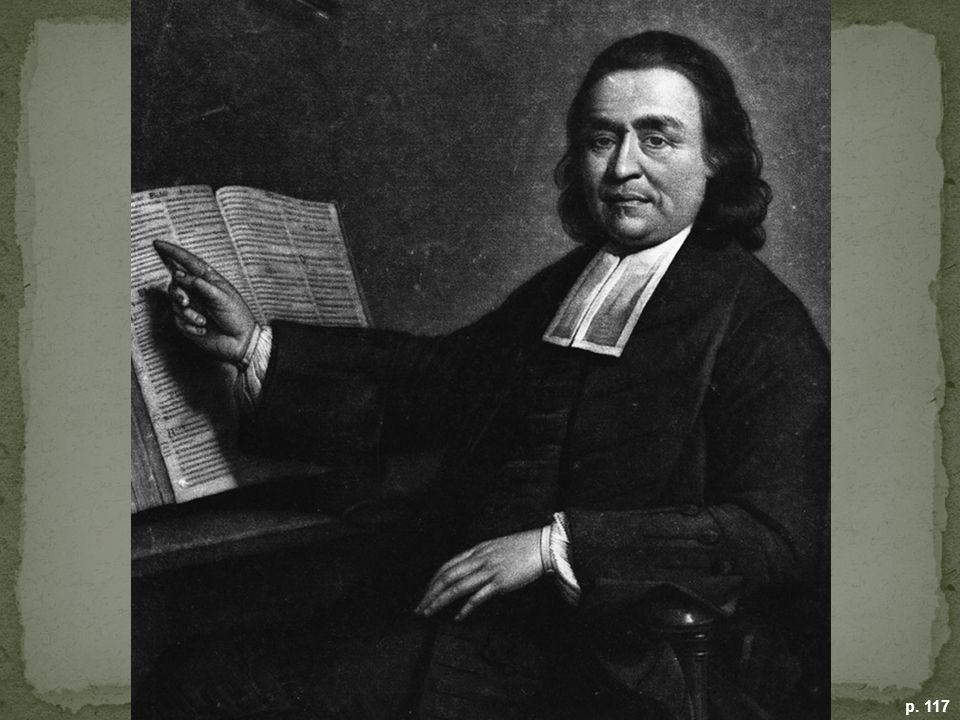 REVEREND SAMSON OCCOM, MOHEGAN INDIAN PREACHER Born in a wigwam in Connecticut, Occom converted to Christianity under the infl uence of the Great Awakening and preached to other Native Americans. But he grew disillusioned with the treatment of his people by whites. (Trustees of the Boston Public Library)
