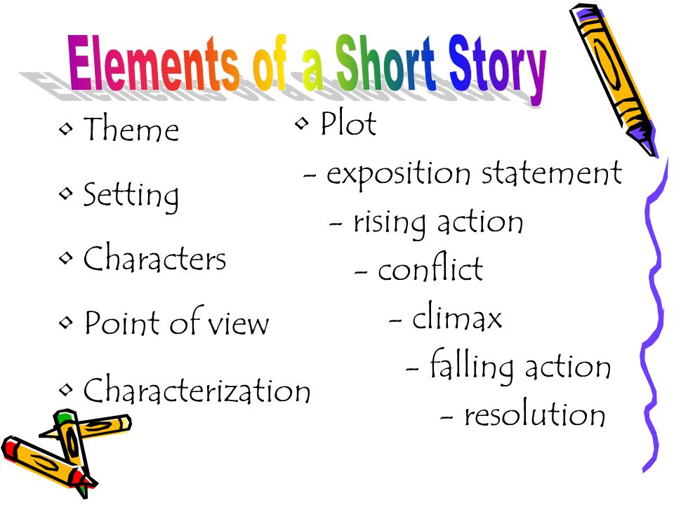 Elements of a Story Examples