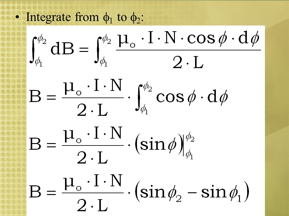 Integrate from 1 to 2: