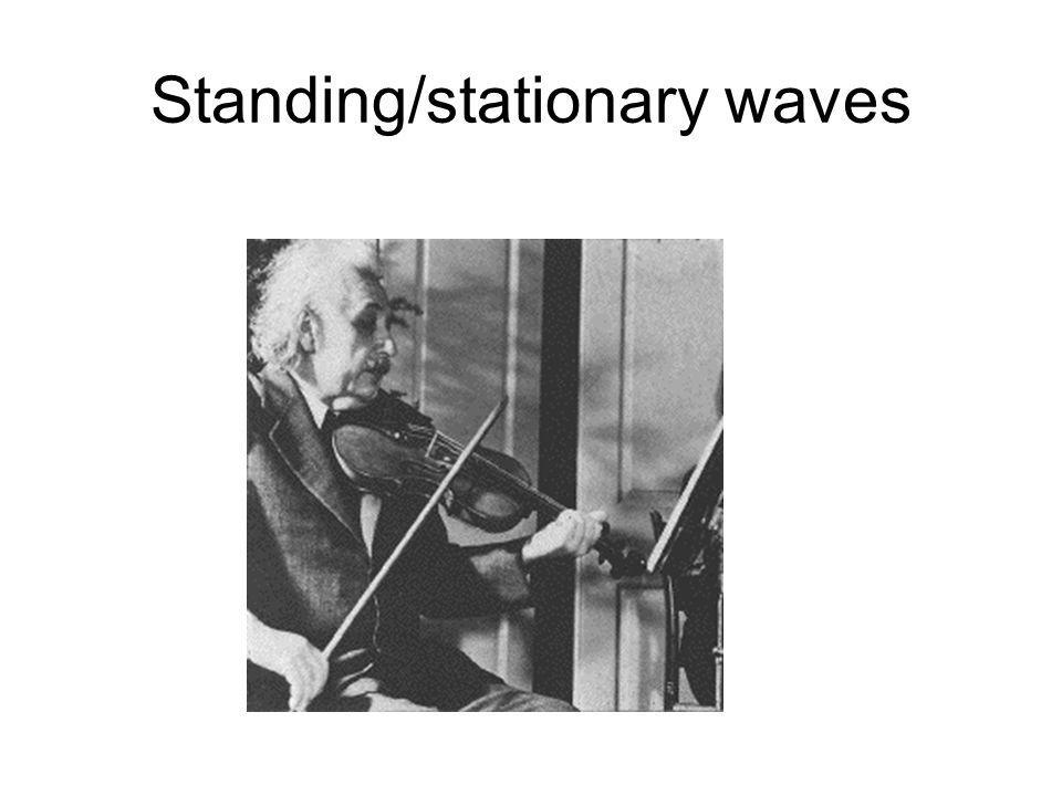 Standing/stationary waves