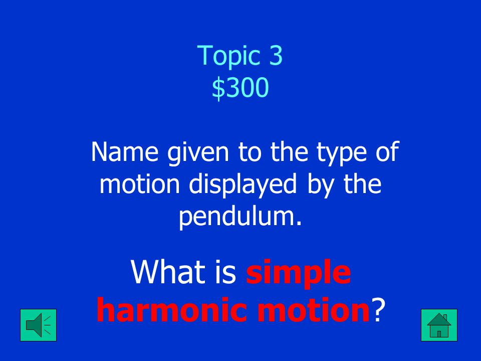 What is simple harmonic motion