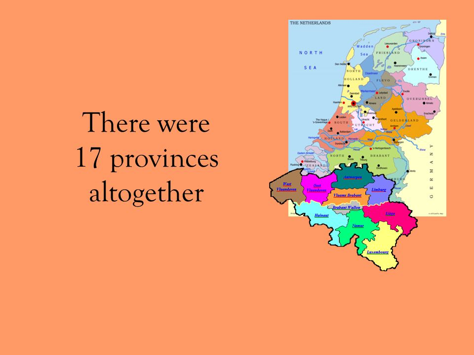 There were 17 provinces altogether