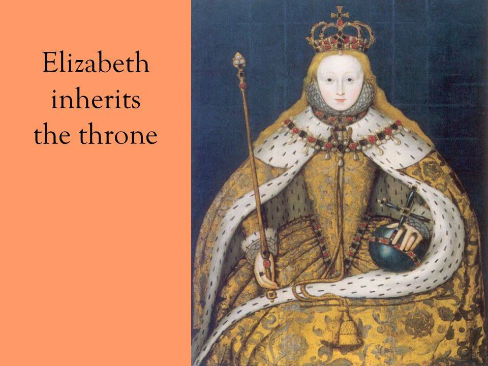 Elizabeth inherits the throne
