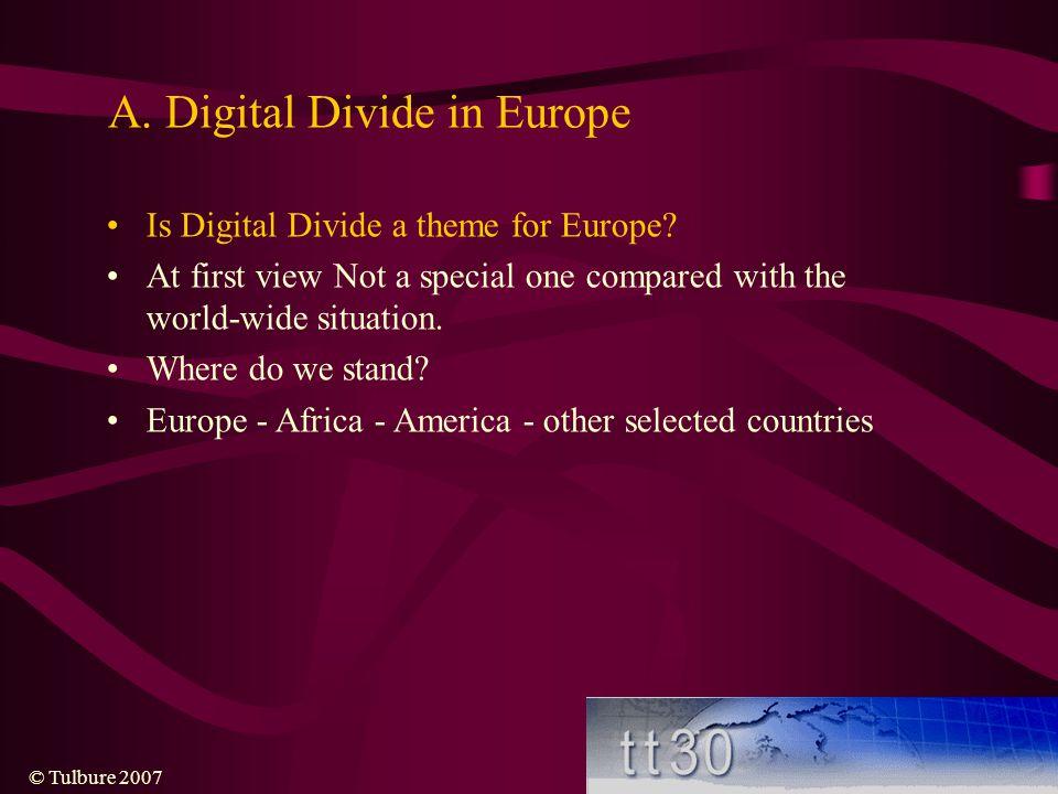 A. Digital Divide in Europe