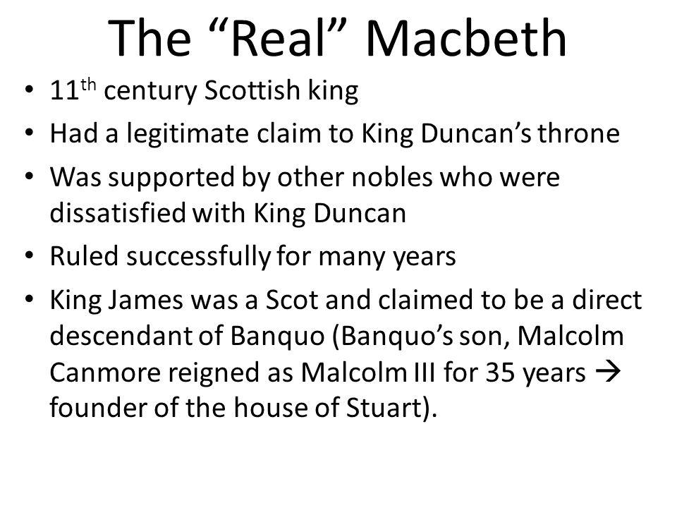 The Real Macbeth 11th century Scottish king