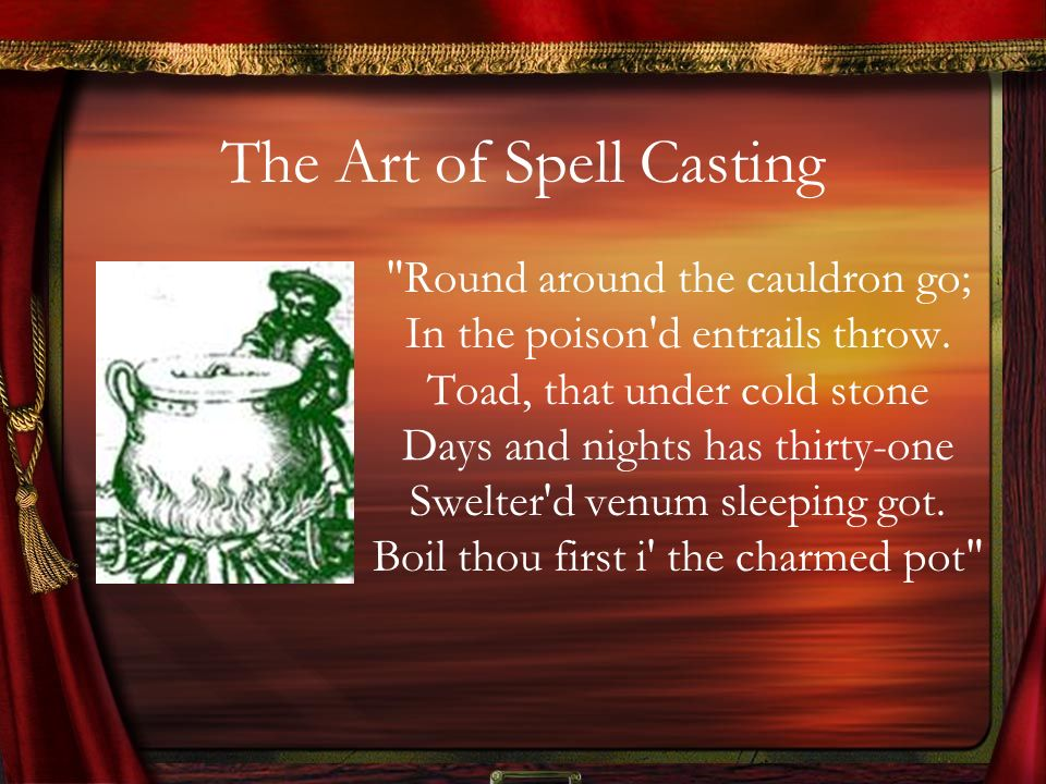 The Art of Spell Casting