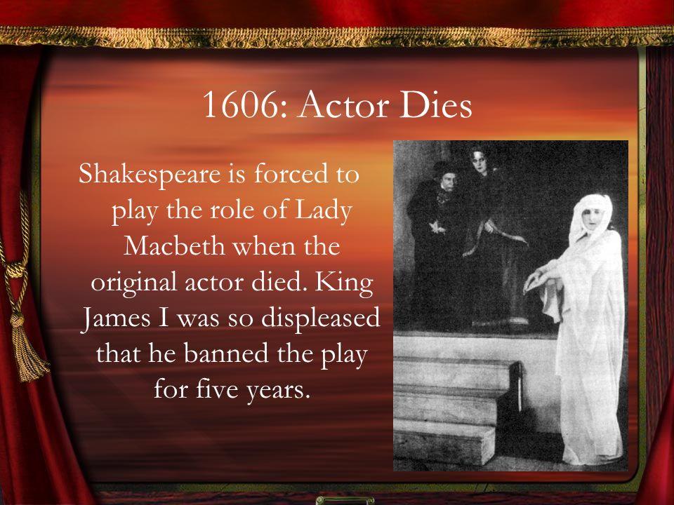 1606: Actor Dies