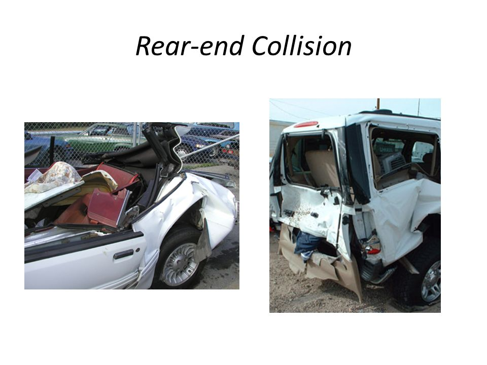 Rear-end Collision