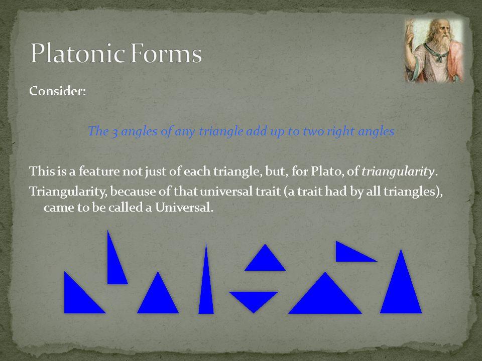 Platonic Forms