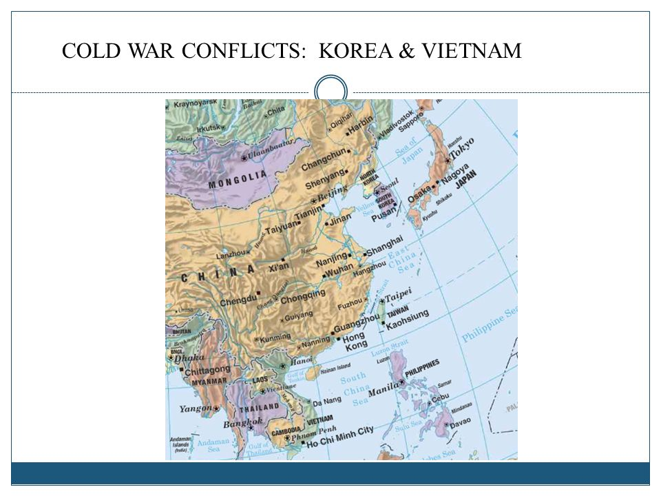 COLD WAR CONFLICTS: KOREA & VIETNAM