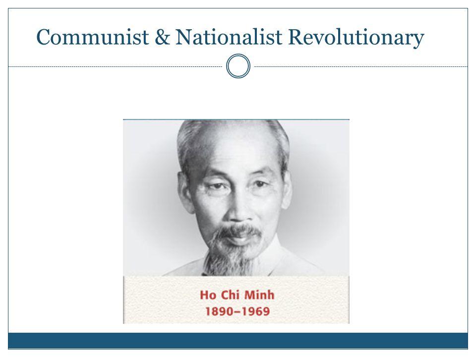 Communist & Nationalist Revolutionary