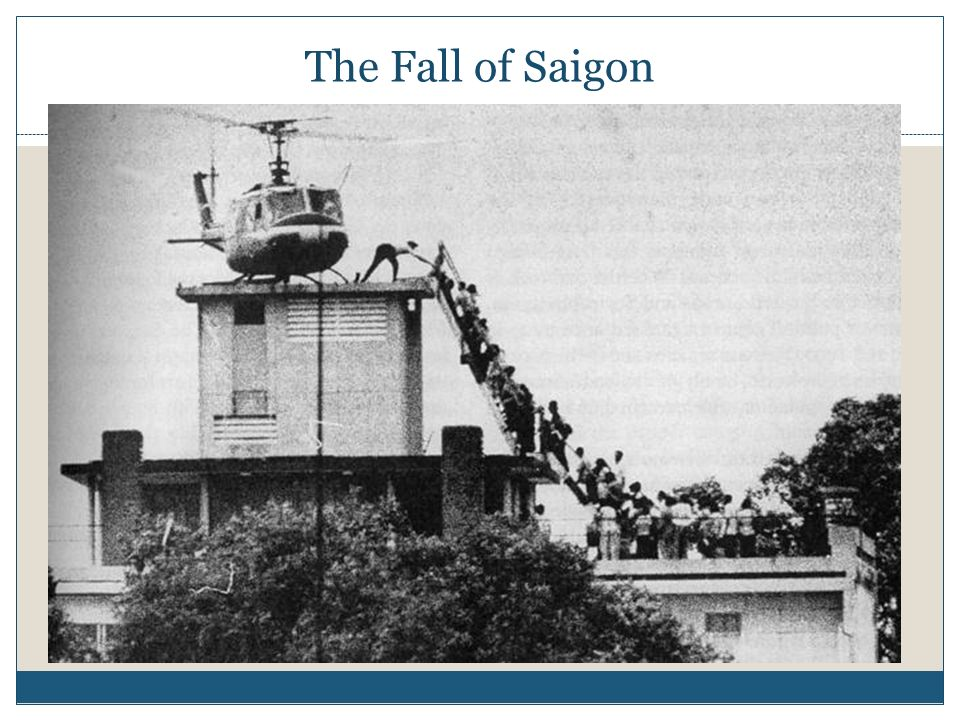 The Fall of Saigon
